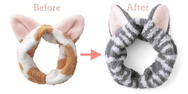 """【開発秘話あり】「猫じゃない」のお叱りの声を受けて全力で作り直した """"猫耳ヘアターバン"""" がコチラです"""