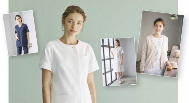 「ジェラート・ピケ」がナース服を作ってるって知ってた? 機能性とかわいさを兼ね備えた甘〜いマカロンカラーのラインナップです