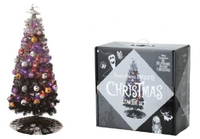 「ナイトメアー・ビフォア・クリスマス」のクリスマスツリーが9/28から限定先行販売! ジャックのオーナメントなどダークなツリーが魅力的♪