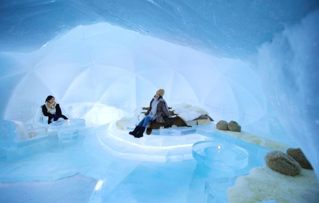 氷の部屋で宿泊体験!? 星野リゾート トマムがこの冬も「氷のホテル」をやるよ! 氷の露天風呂や湯上がり処に加え、朝食サービスも登場!!