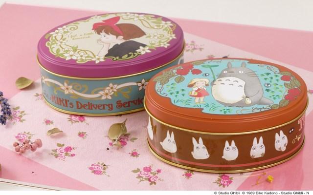 【ジブリ】トトロとキキの世界観を表現したオリジナル茶葉缶がルピシアとコラボで登場♪ もみじが入ったお茶や花びら入りの紅茶も!