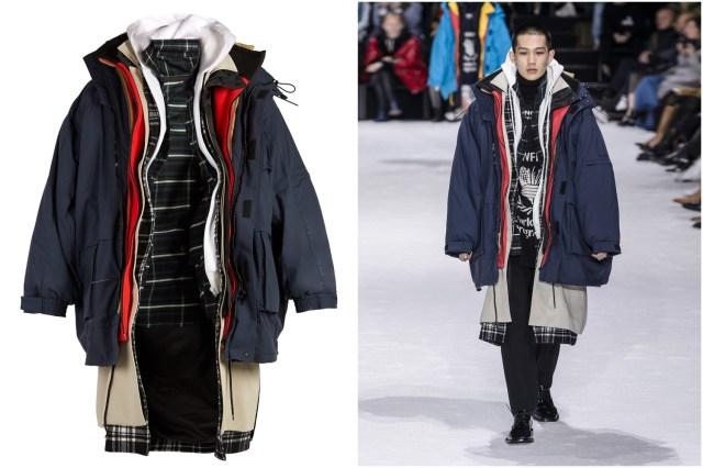 超高級ブランドが「重ね着しすぎコート」を発売したよ! 暖かそうだけど…お値段90万円です