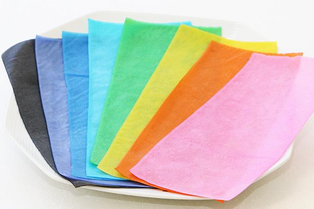 コレ食べられます! かまぼこ色紙「ととしーと」はデコ弁やキャラ弁が簡単にカラフルに作れる画期的なアイテムです
