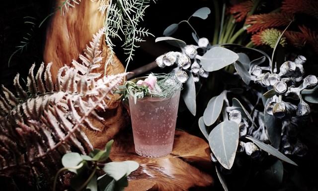 植物園のような店内でハーブ入りのオリジナルドリンクが作れる…日本茶専門店「東京茶寮」が2日間限定で「飲む植物園」に