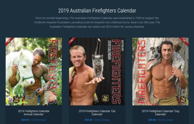 """今年も""""イケメン消防士カレンダー""""の季節がやってきた! 「マッチョ × かわいい動物」シリーズのオーストラリア版はまさに眼福♡"""