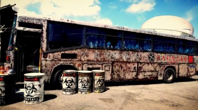 バス型お化け屋敷「オバケバス」が爆誕! 企業から個人までレンタル可能&イベント出張もしてくれるらしいゾ