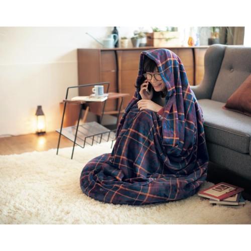 人類を冬眠させたいベルメゾンが「こもれる毛布付きのあぐらクッション」を発売したよ