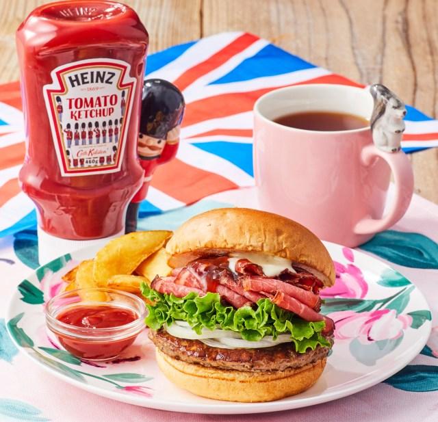 「フレッシュネスバーガー」と「キャス キッドソン」がコラボ♪ ローストビーフを使ったハンバーガーや、かわいいバーガー袋にも注目です