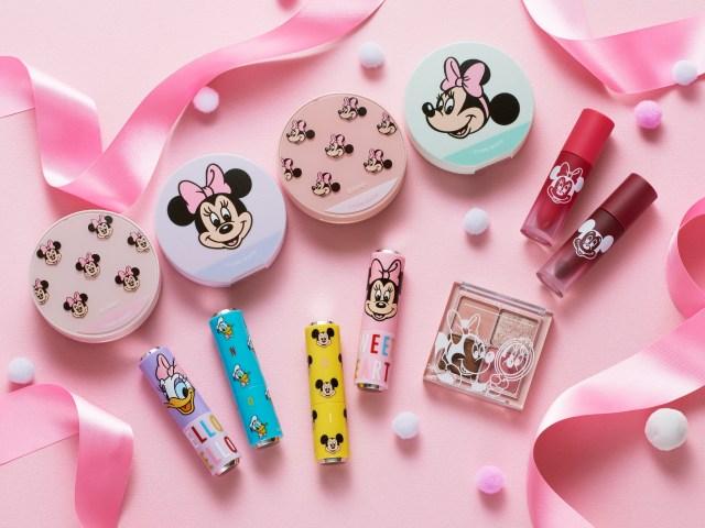 ディズニー × エチュードハウスのコスメがめちゃんこかわいい☆ リップケースはカスタマイズが可能だよ!