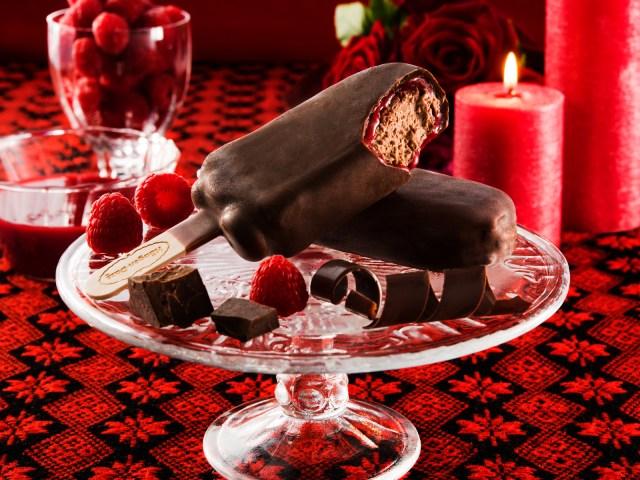 ハーゲンダッツ新作は「ベリー × チョコ」を贅沢に味わえちゃうアイスバー! ベリーソースがとろ~りあふれて存在が罪の予感です