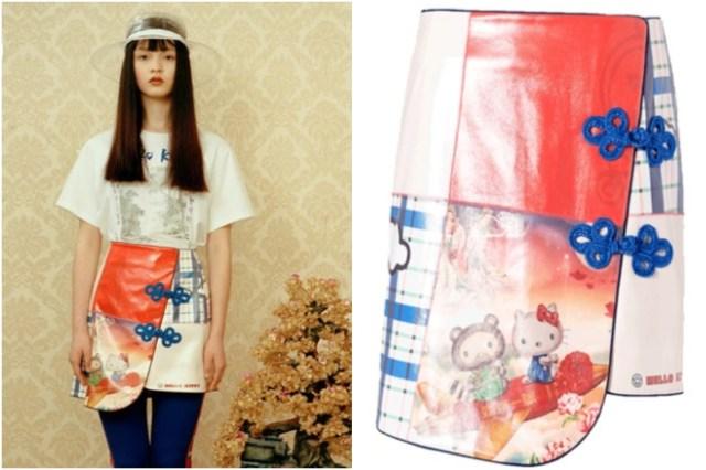 【かわいい】キティちゃんが中国のブランドと強烈コラボ! キティちゃんのチャイナ風スカートなどデザインが素敵だよ♪