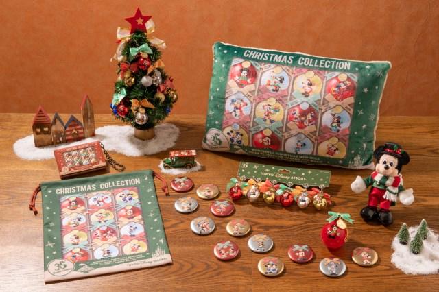 「ディズニー・クリスマス」が11月8日からスタート! 夜の演出がクリスマス仕様に変化 & 35周年記念のクリスマスグッズも♪