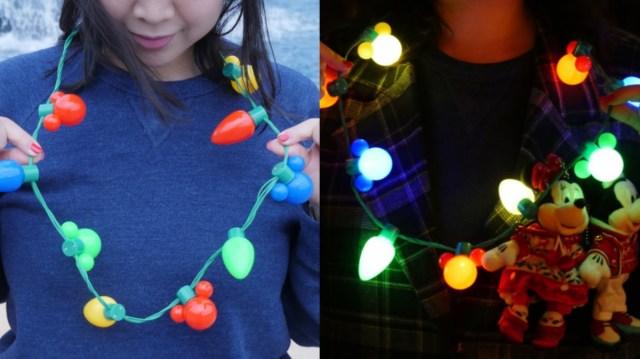 【これは買い】ディズニークリスマス限定グッズ「イルミネーションライト」はパーク内でもバッチリ目立つ&お部屋でも楽しめるスグレモノです☆