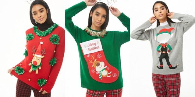 フォーエバー21にダサいクリスマスセーターが登場だよ★ 今年もしっかりダサくて可愛さ満点デスッ