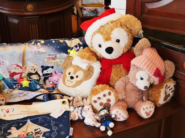 「ダッフィー&フレンズ」のクリスマスグッズが悶絶級のかわいさ! 仲良しな4人の姿にほんわり心が温まります♡