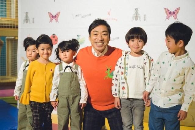 香川照之さん、昆虫が好きすぎて「昆虫モチーフの洋服」をプロデュース! 公式サイトには昆虫占いまであるよ…!