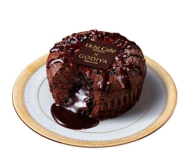 【本日発売】ローソンからゴディバの「フォンダンショコラ」が登場するよ!! レンジでチンすると濃厚チョコがとろけ出します♪
