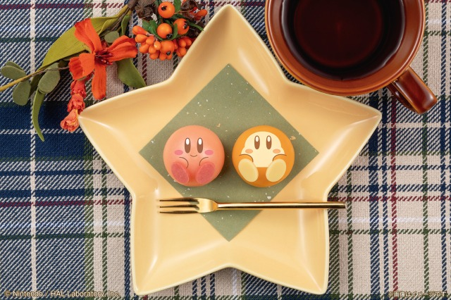 【かわいすぎ】星のカービィ&ワドルディがもっちもちの和菓子になってローソンに登場♪ シークレットの表情もあるよ〜