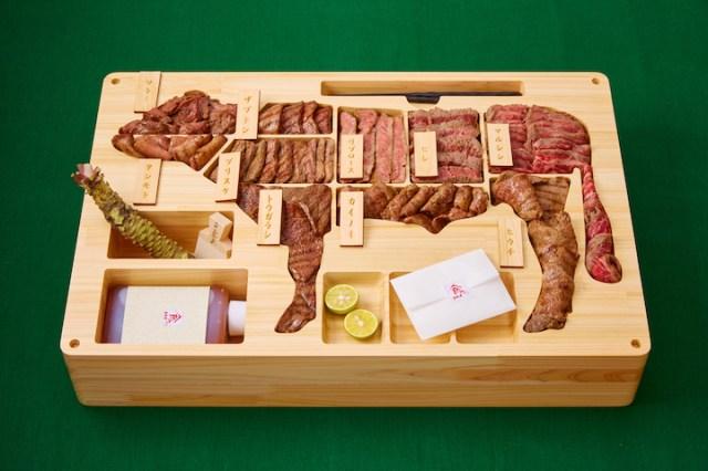 焼肉弁当が29万円ですって!? 希少部位を4.5キロも詰め込んだ「世界で最も高額な弁当」が攻めすぎぃいい!