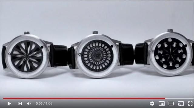 【美しすぎる】この腕時計、もはや芸術作品でしょ! 文字盤が万華鏡のように美しい模様を描く時計