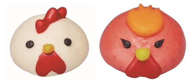 【本日から】ローソンに「からあげクンまん」が登場っ! 「照り焼きチキン」と「ピリ辛チキン」の2種類で見た目も可愛いよ~♡