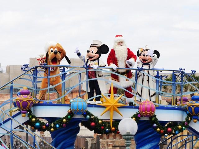 ディズニーランド・シーのクリスマス限定パレードはココが凄い! 思いっきり楽しむためのポイントをご紹介しちゃいます☆