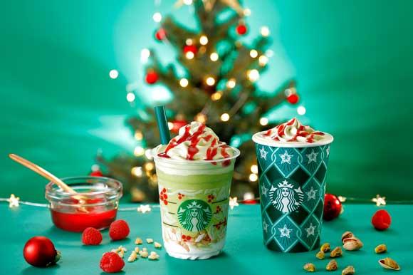 スタバの新作はツリーをイメージした「ピスタチオ クリスマス ツリー」! ピスタチオ好きは「ソイミルク」へ変更がオススメです★
