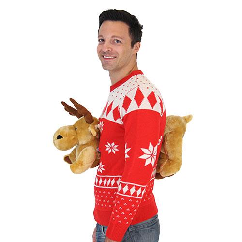 来年のクリスマスにいかが? ダサいセーターになんと「3Dバージョン」が登場していました
