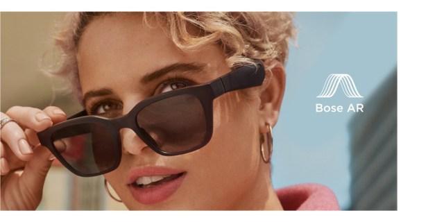 「音楽が聴けるサングラス」をBoseが作ったよ! 通話もできるし世界初の「音声AR」体験もできるらしい