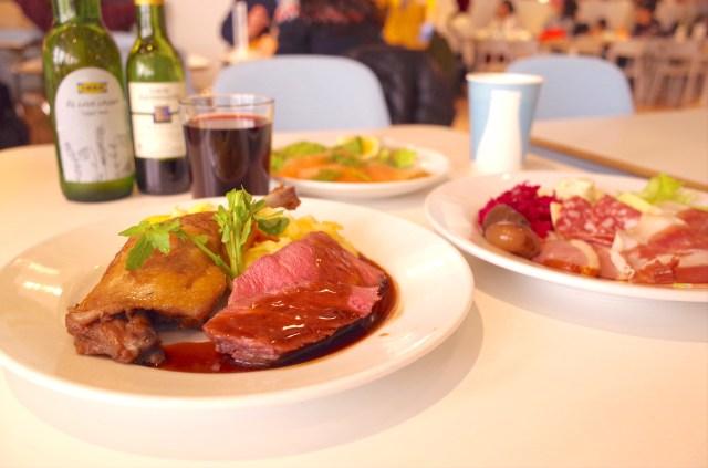 ひとり「クリスマスディナー」を楽しむならイケアがオススメ! 安くて美味しいホリデーディナーやワインを楽しめるよぉおお!