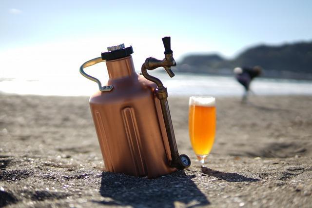 キャンプやお花見に使える「小型ビールサーバー」が日本上陸!! 今なら最高のクラフトビール1.8Lまでついてきちゃうよ