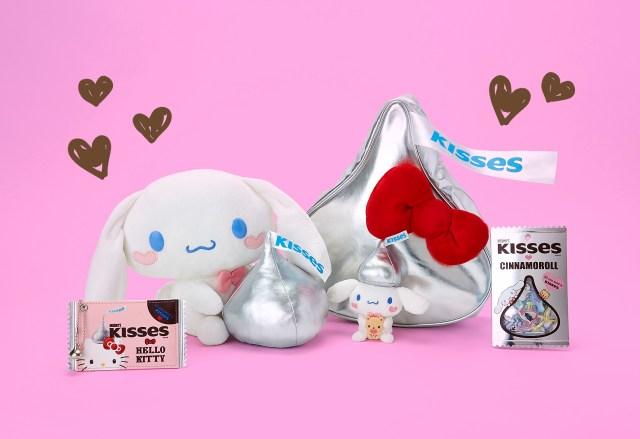 キティちゃんがキスチョコに変身!?  ハーシーとサンリオコラボの雑貨やお菓子がめちゃんこ可愛い!