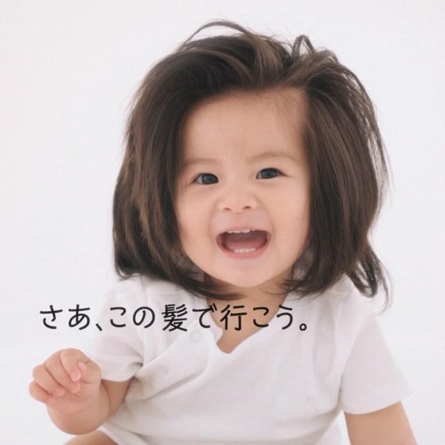 普通の赤ちゃんと違うことは変なの? 爆毛赤ちゃんとママに起きた1年間をまとめた動画に考えさせられる……