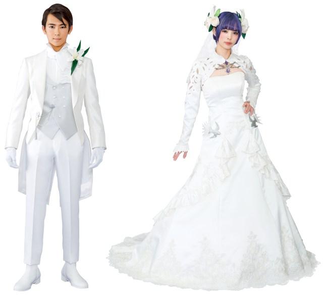 「ファイナルファンタジーXIV」とのコラボ婚が誕生! ドレスや小物、演出はゲームの開発チームが監修した本格派です
