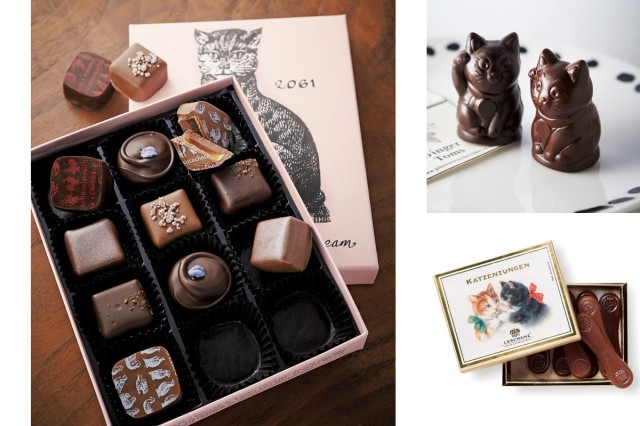 フェリシモ「猫チョコ」シリーズが可愛すぎて悶絶! 猫の舌をイメージしたチョコや、招き猫に似たチョコなど可愛さ満点だよぉお
