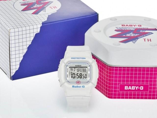 「BABY-G」が25周年を記念して初代モデルを復刻! 90年代要素たっぷりでレトロ可愛いのです