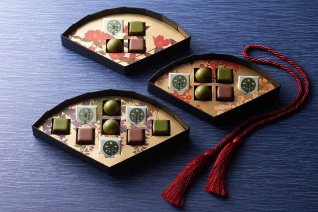 """京都の老舗が生み出す """"お茶のチョコ"""" が美味しそう! 宇治抹茶とほうじ茶の2種類の宇治茶を提供しています"""