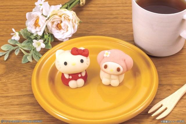 「ハローキティ」&「マイメロディ」の和菓子がローソンに登場!  キティ先輩と並んだマイメロの表情が気になります…