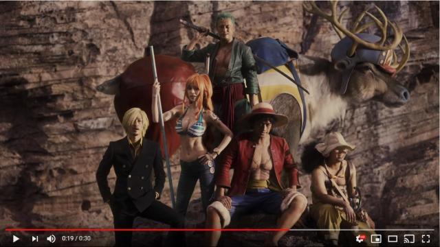 「ワンピース」を実写化したインディードのCMが再現度高すぎ〜! 泉里香演じるナミの美ボディに注目あれ…