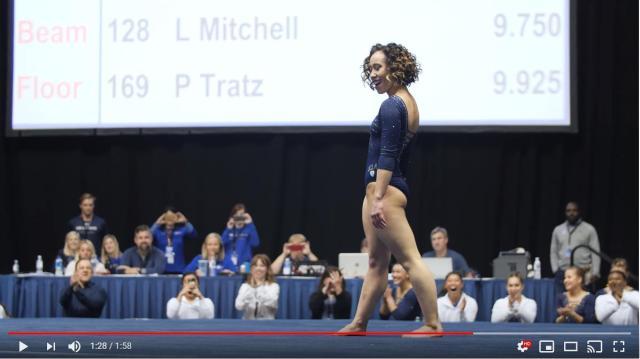 10点満点をたたき出した体操選手の技術と楽しそうな表情にご注目! 実は怪我や偏見で苦しむ過去もありました…