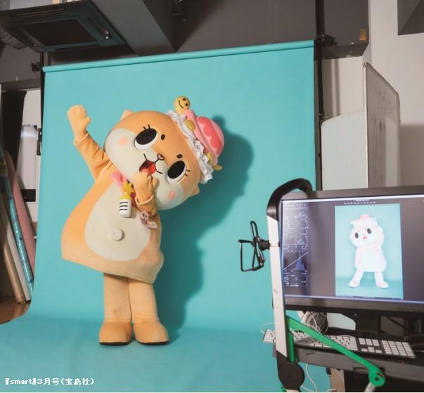ちぃたん☆が『smart』3月号で専属モデルデビュー! 持ち前のチャレンジ精神を発揮しているよ~
