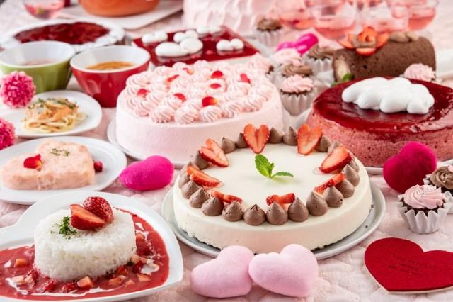 """スイパラの""""恋するバレンタインフェア""""はピンクまみれ♡ 可愛すぎる「苺カレー」が気になりすぎる…!"""
