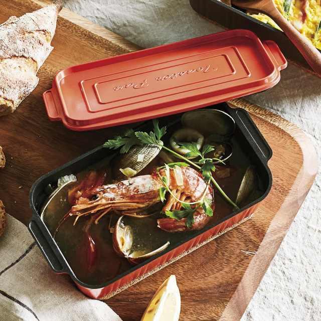 オーブントースターでお米が炊ける!? フェリシモのミニ鍋が万能すぎてスゴイ! ブイヤベースを煮込むこともできるぞ!