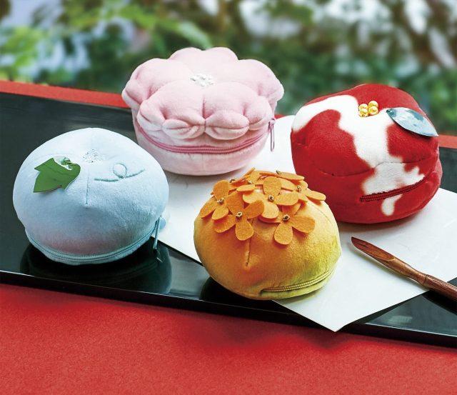 【もっちり】和菓子の練り切りがポーチに!? 小粋なデザインで食べちゃいたいほど可愛いです♪