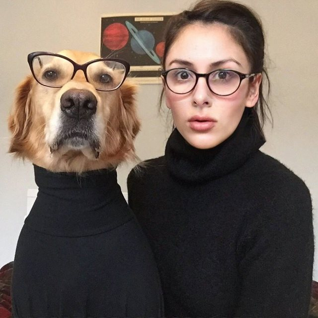 【おもしろ美しい】愛犬とのラブなコスプレを撮影しまくるフォトグラファー! イケメン男子にしか見えないワンコのスタイルにも注目です