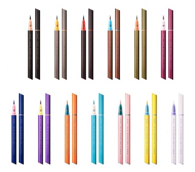 ブランド終了発表の「フローフシ」が新ブランド「ウズ」にリニューアル! 第1弾商品は14色のアイライナーです