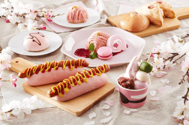イケアで「桜フェア」が開催されるよ~! ピンク色のホットドッグや桜風味の和風スイーツでひと足先に春を感じよう♪