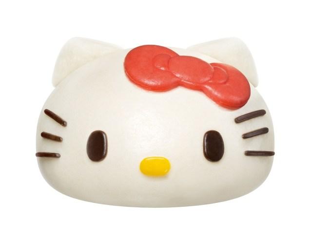 【本日発売】ローソンから可愛すぎる 「ハローキティ まん」が登場!! キティスリーブやキティ弁当などコラボメニューも♪