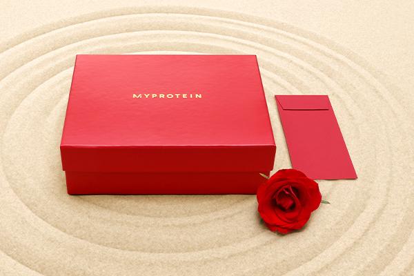 筋トレ彼氏に送りたい!? プロテイン5商品が入った「バレンタインギフトBOX」が登場しましたぞ〜♡