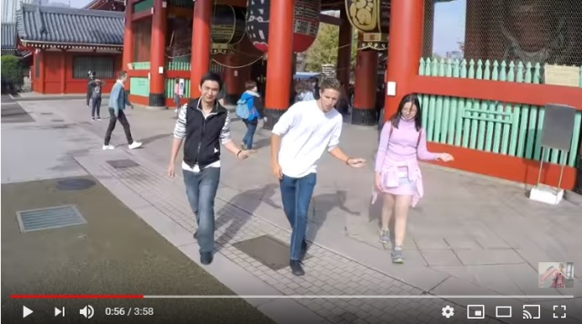 世界15か国を訪れて1000人と踊ってみた動画が素敵すぎる! 浅草や河口湖など日本の風景も登場します